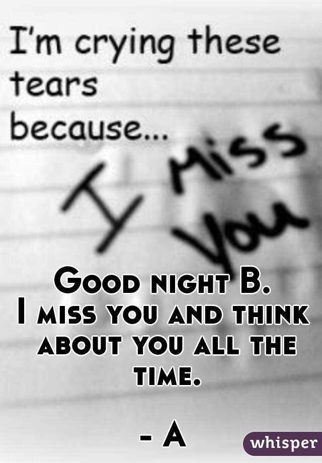 Miss u all the time