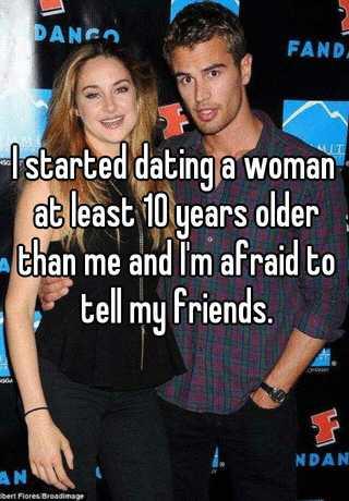man dating woman 10 years older