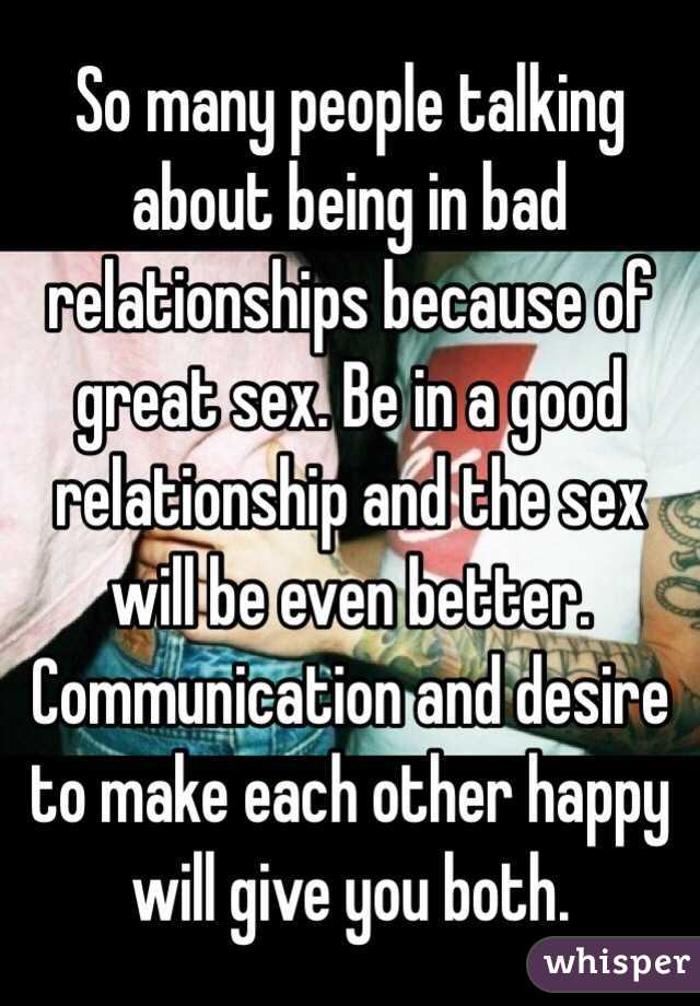 How to have good sex in a relationship