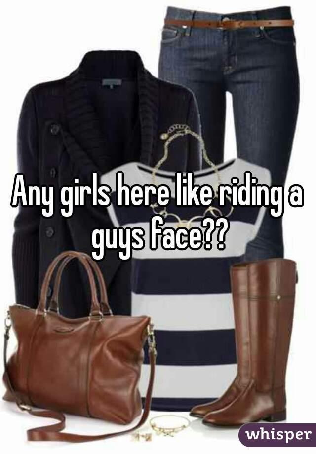 Girl Riding Guys Face