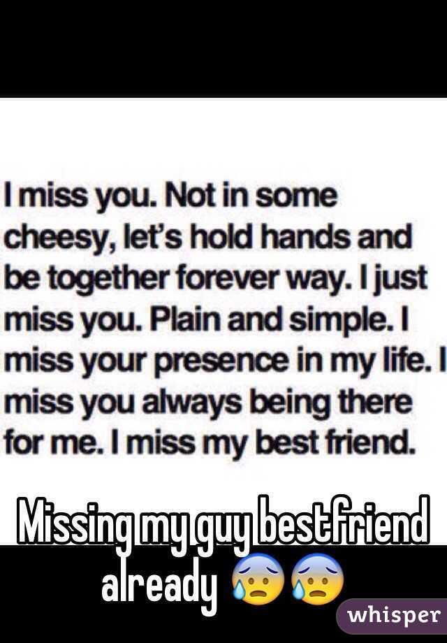 Missing my guy bestfriend already 😰😰