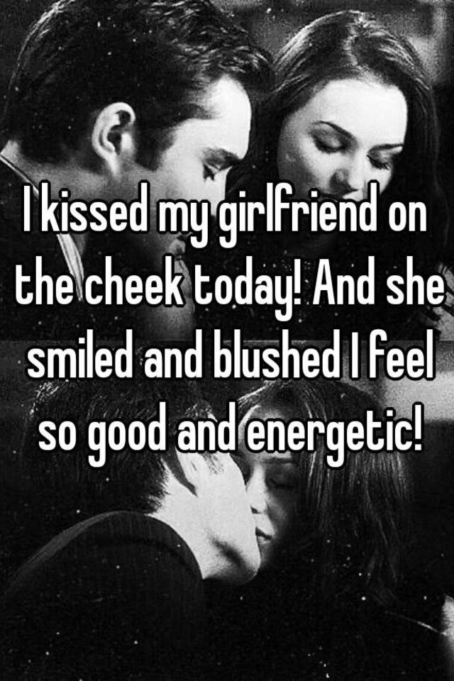 way of kissing to your girlfriend