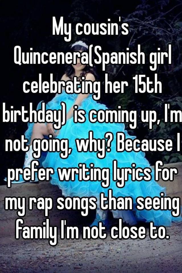 My cousin's Quincenera(Spanish girl celebrating her 15th birthday ...