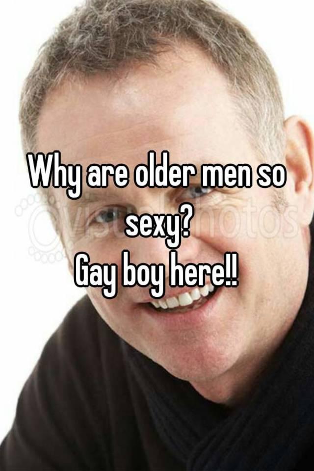 Sexy old gay men