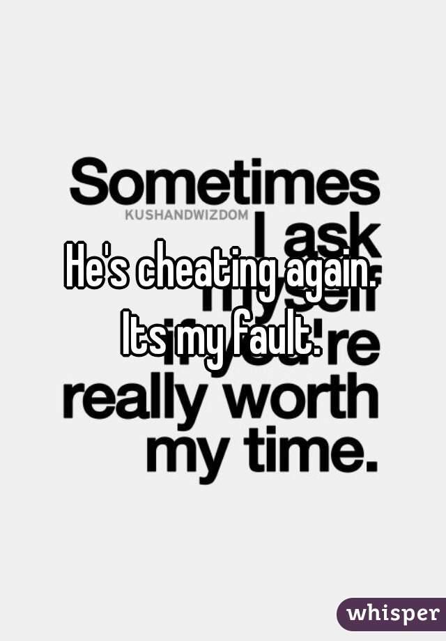 do cheaters cheat again