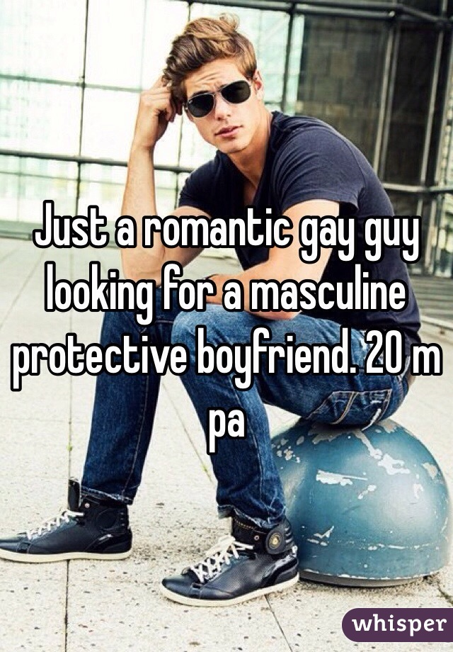 Looking for a gay boyfriend