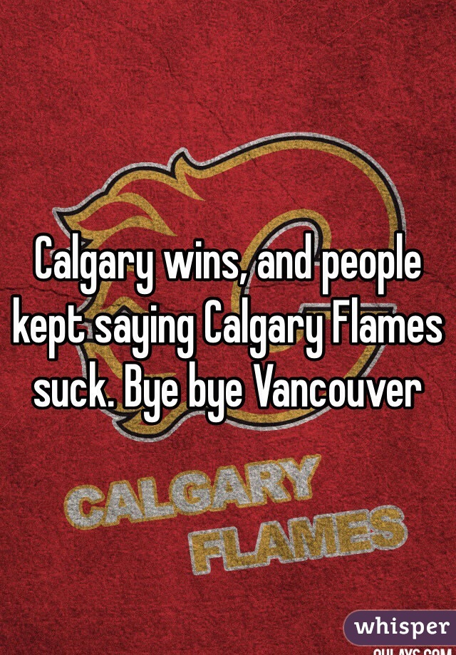 Flames suck pictures