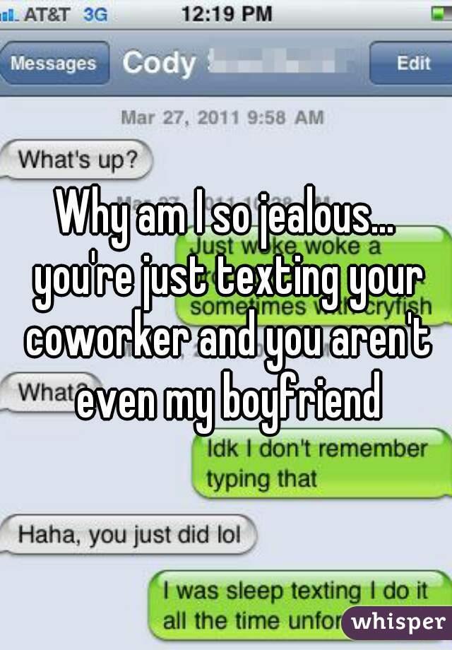 why do i get so jealous with my boyfriend
