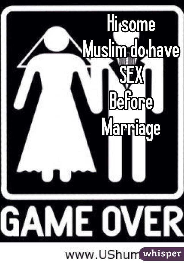 Can muslims have sex before marriage
