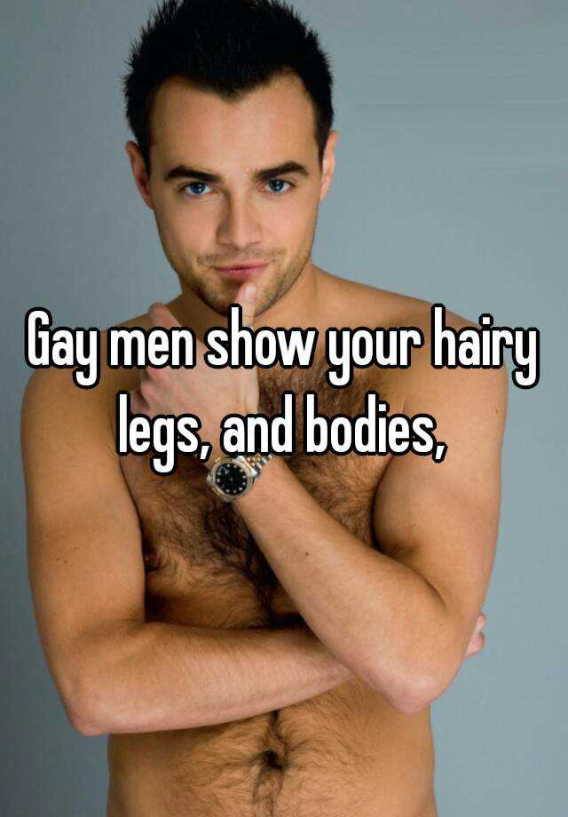 Hairy gay me
