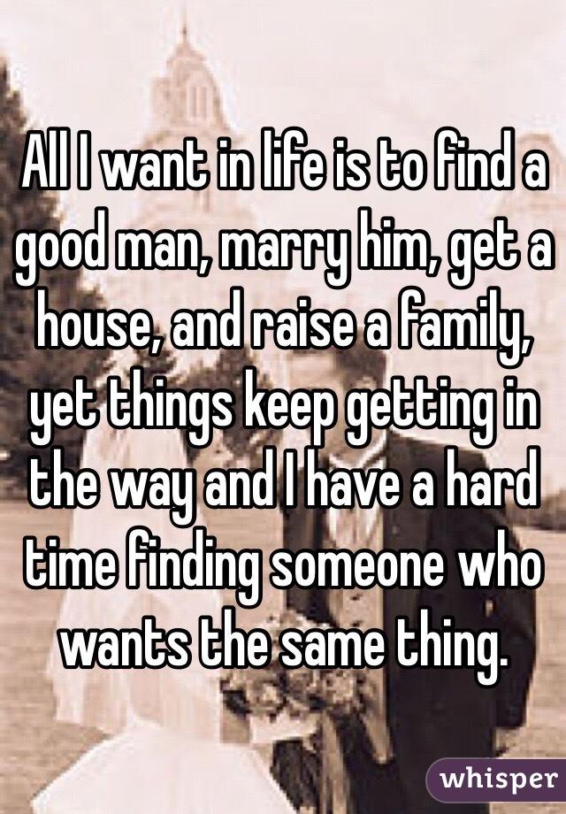 I want a good guy