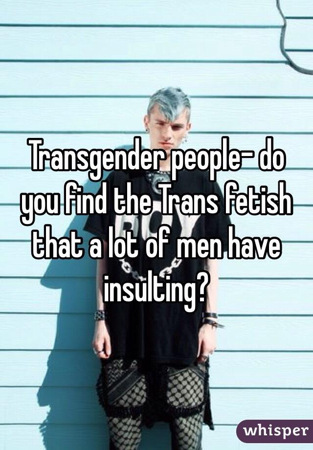 Транс фетиш