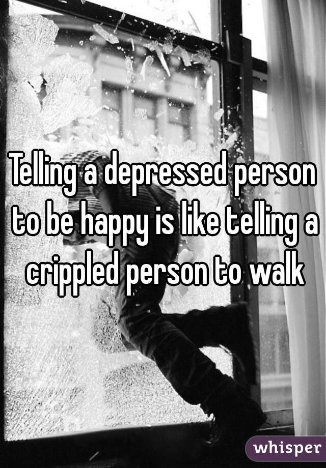 can depressed be happy