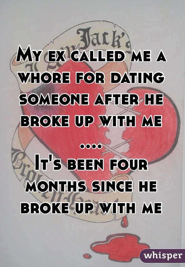 Dating an ex whore