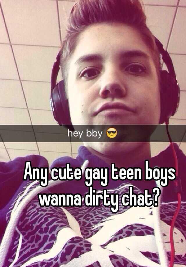 Gay teen boy chat room