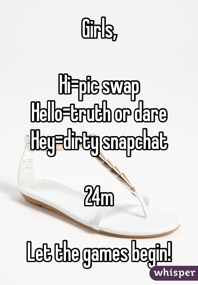 Dirty snapchat games to play