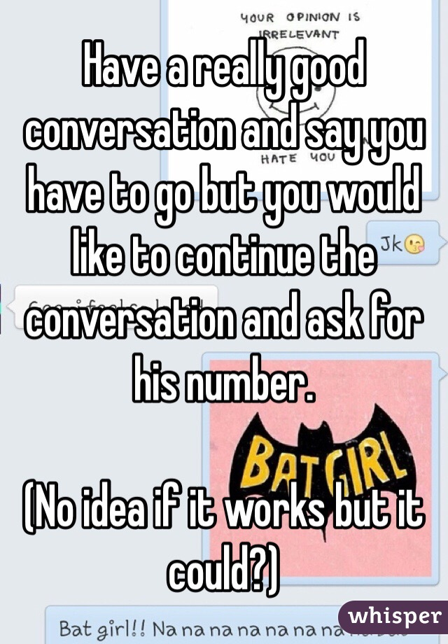 what to say to continue a conversation