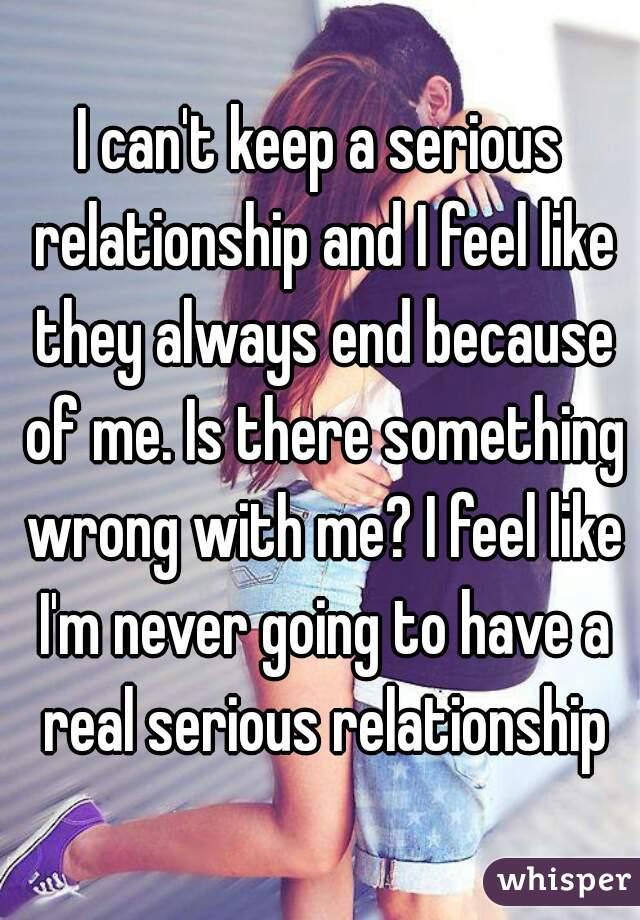 why do i feel like i need a relationship
