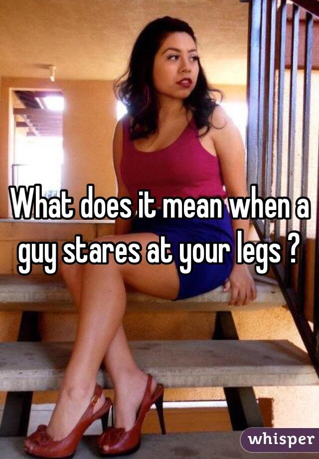 Guys putting their heads in between girls legs