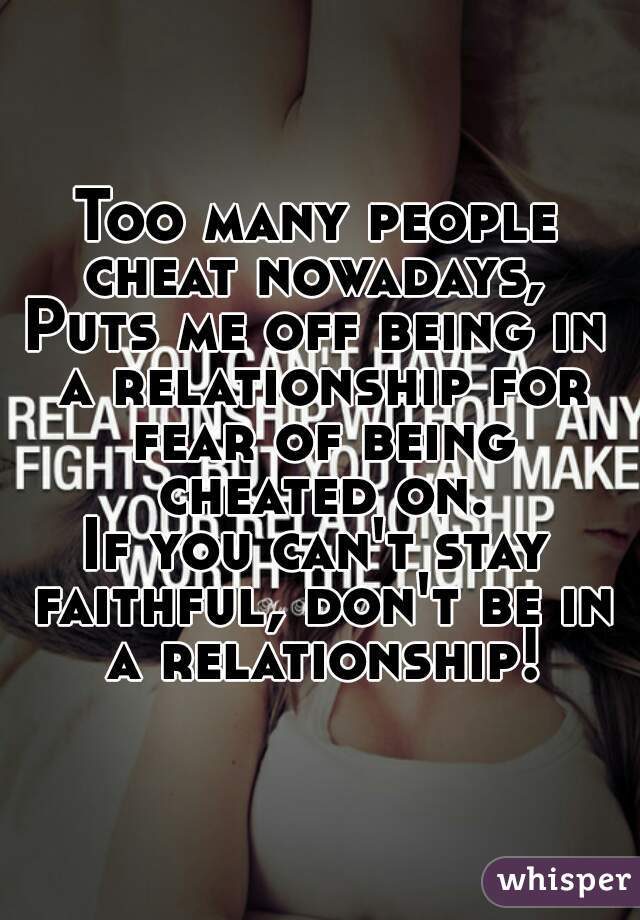 How To Stay Faithful In A Relationship