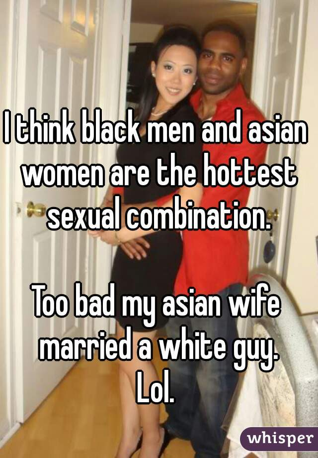 Asian women w black man
