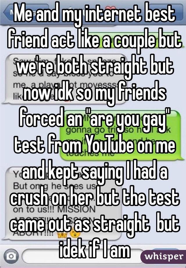 Is my friend gay test