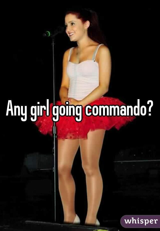 Commando chicks