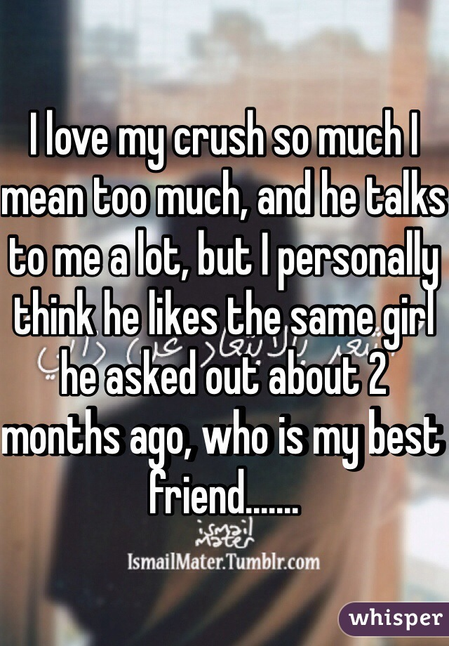 Why is my crush mean to me