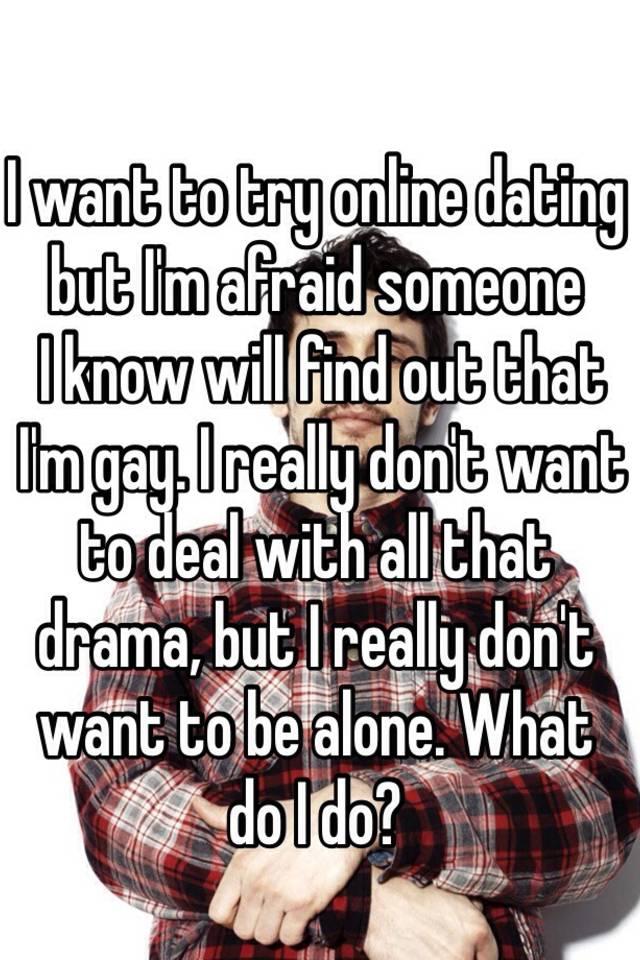 Try internet dating