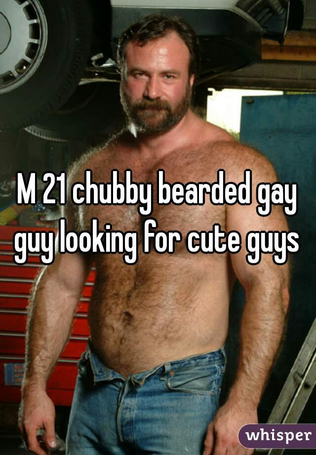 Cute chubby gay guys
