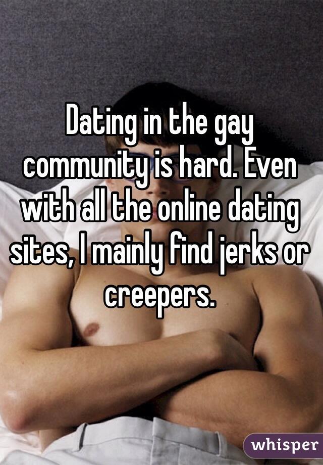 Gay community site
