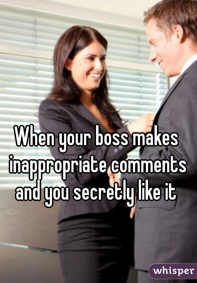 Secretly dating your boss