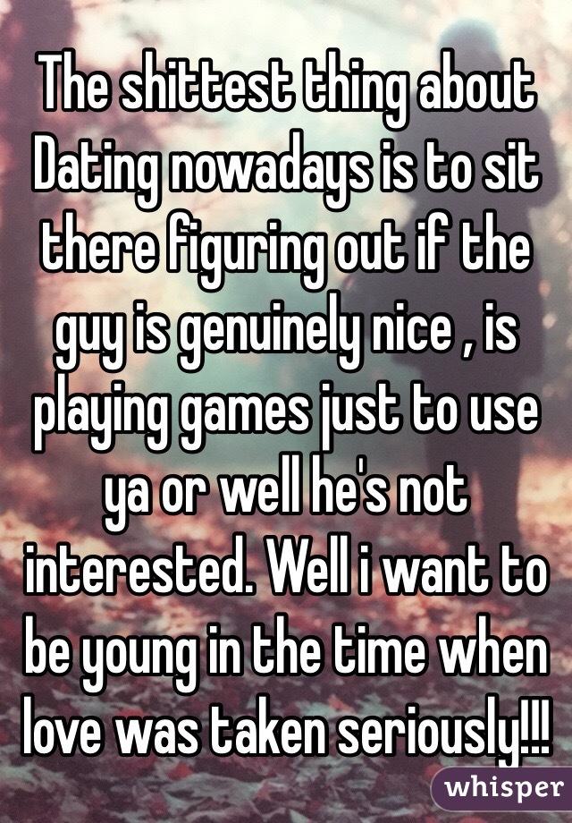 Single taken not interested in dating