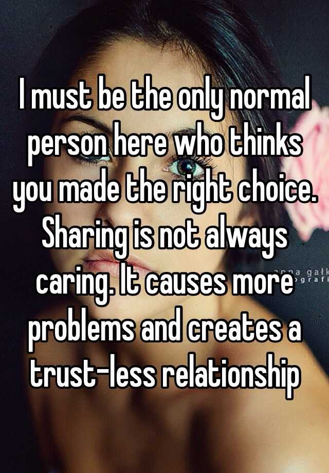 caring less in a relationship