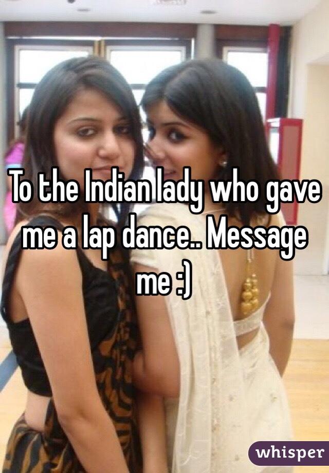 Indian Lap Dance