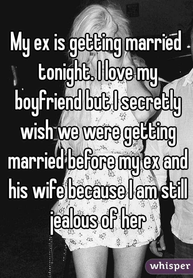 married but still love ex