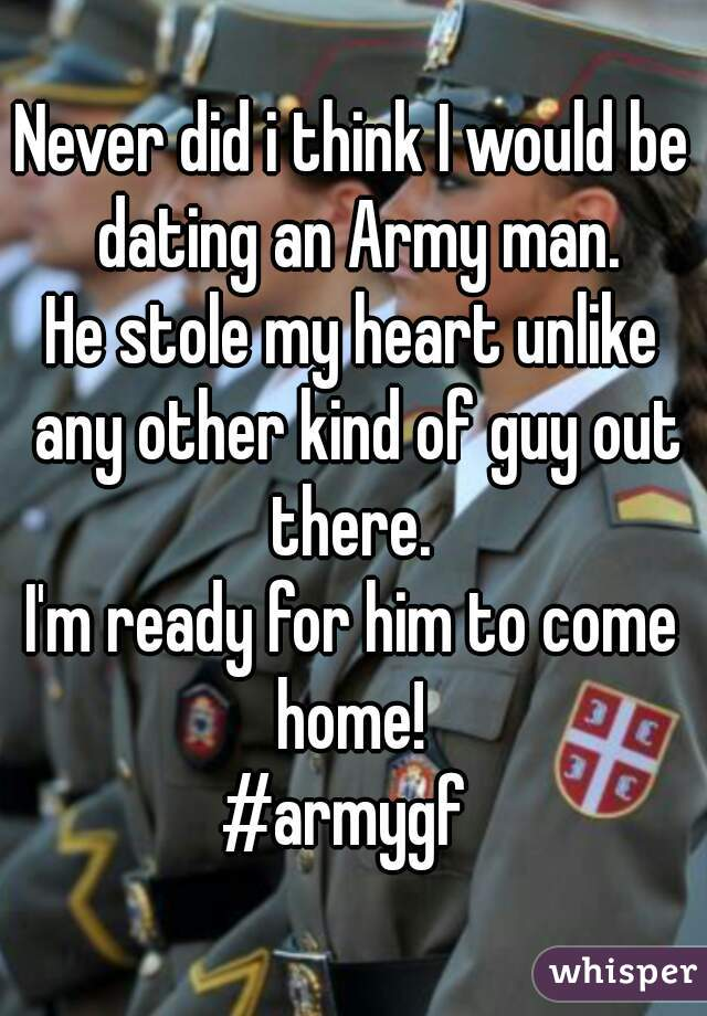 Dating A Human beings In The Army