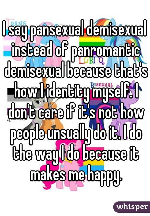Define biromantic demisexual