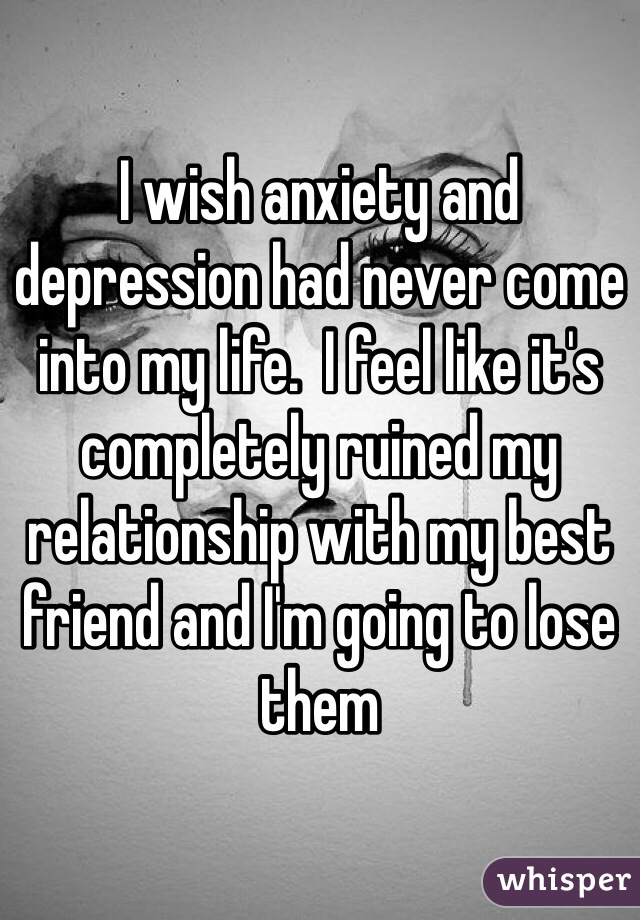 I Feel Anxiety In My Relationship
