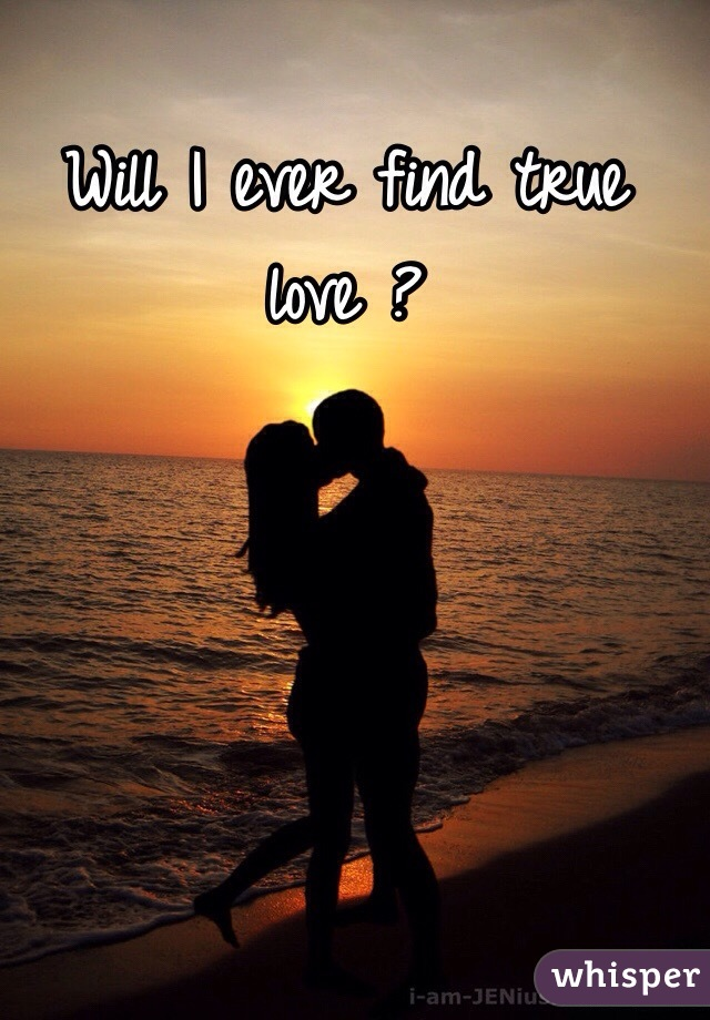 When will you find love