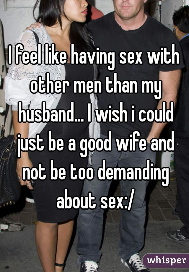 Wife wants sex with woman