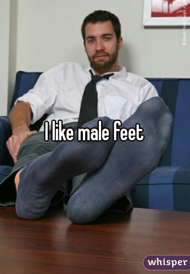 I Like Male Feet