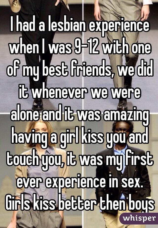 Best friend lesbian experiences