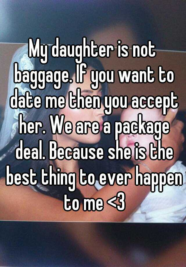 The package deal dating