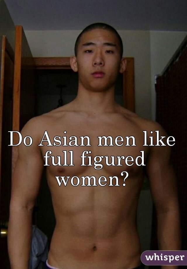 Full figured asian women