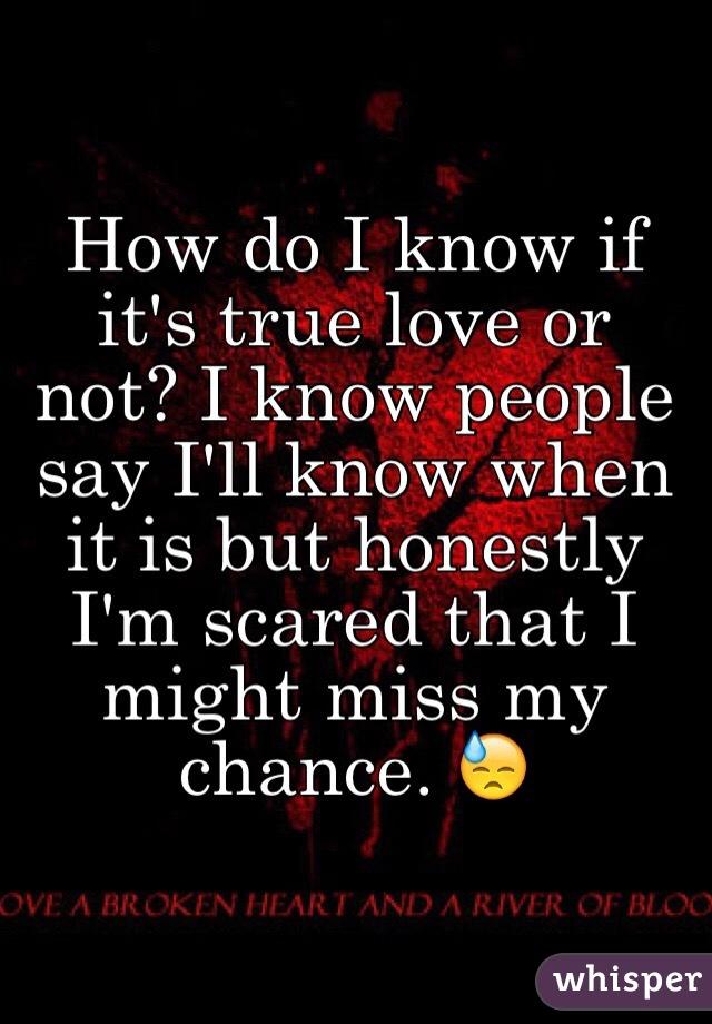 true love or not