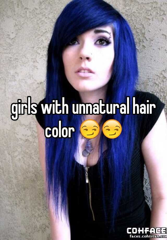 Girls With Unnatural Hair Color