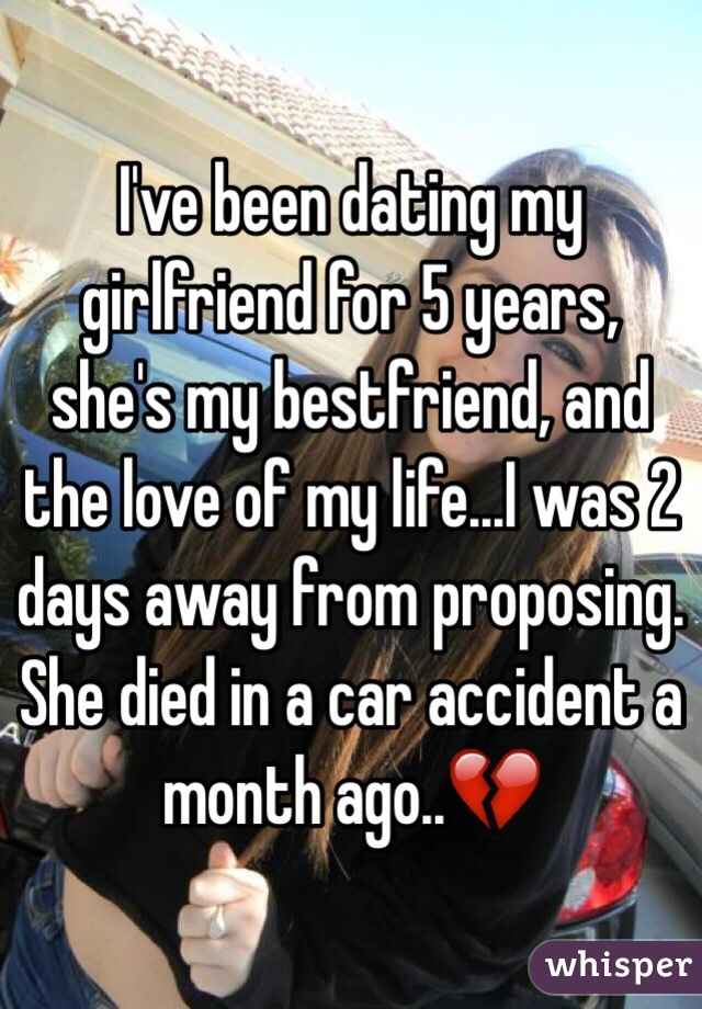 Ive been dating for 4 years