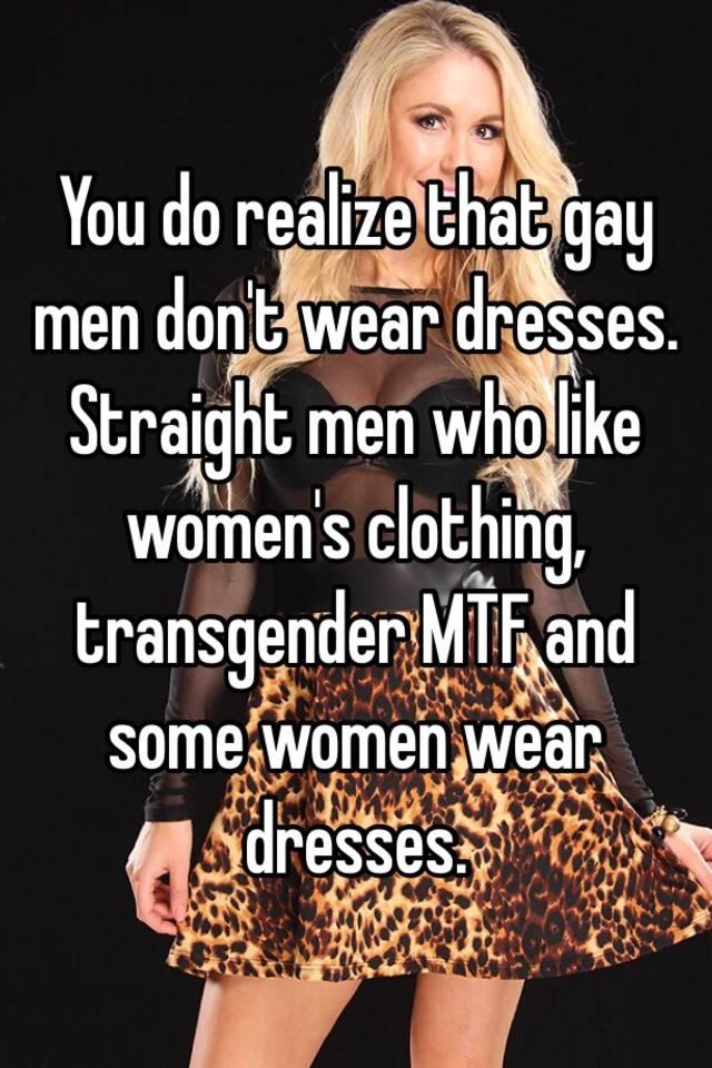 what do gay men wear