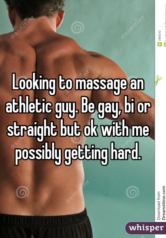 Getting a gay massage